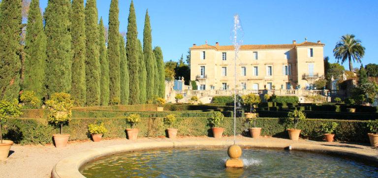 Ausflug zum Château de Flaugergues in Montpellier